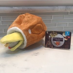 Ducken Stuffed Turkey dog toy